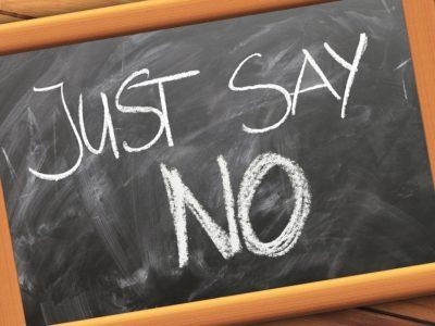 Savoir dire non !