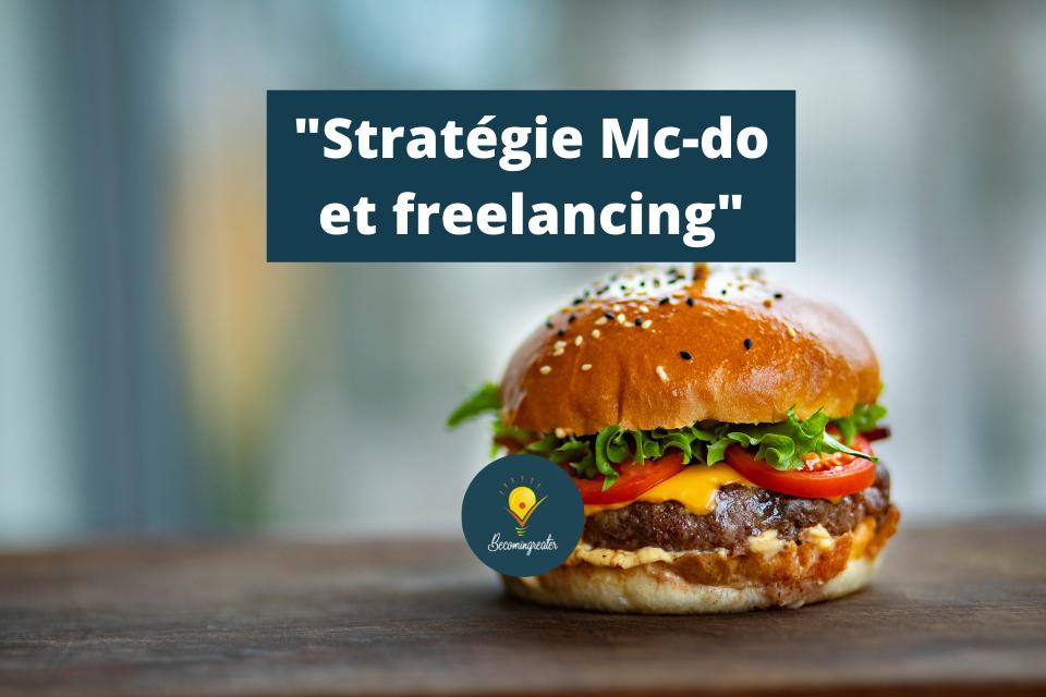 Stratégie Mc-do, quelles offres réduisent tes revenus ?